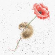 Wrendale Poppy & Mouse Greeting Card